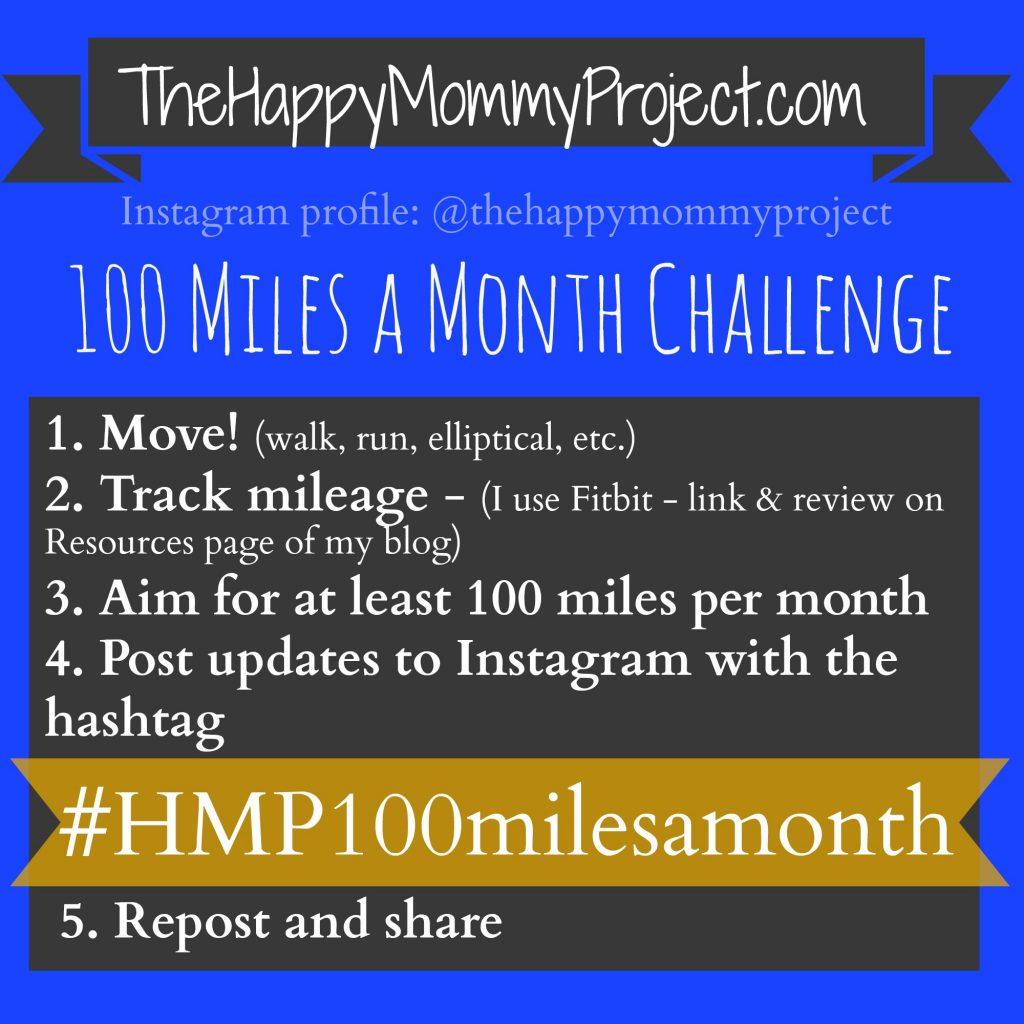 HMP 100milesamonth challenge