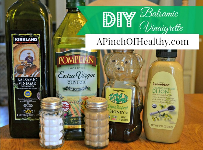 Easy Homemade Balsamic Vinaigrette | APinchOfHealthy.com