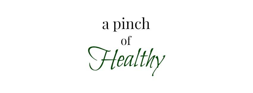 header pinch of healthy