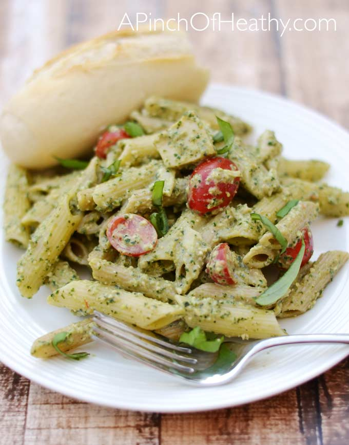 Lightened-Up-Pesto-Recipe-Plate2