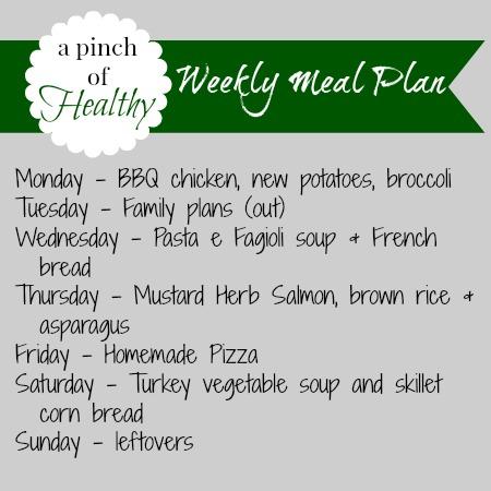 meal plan 061614