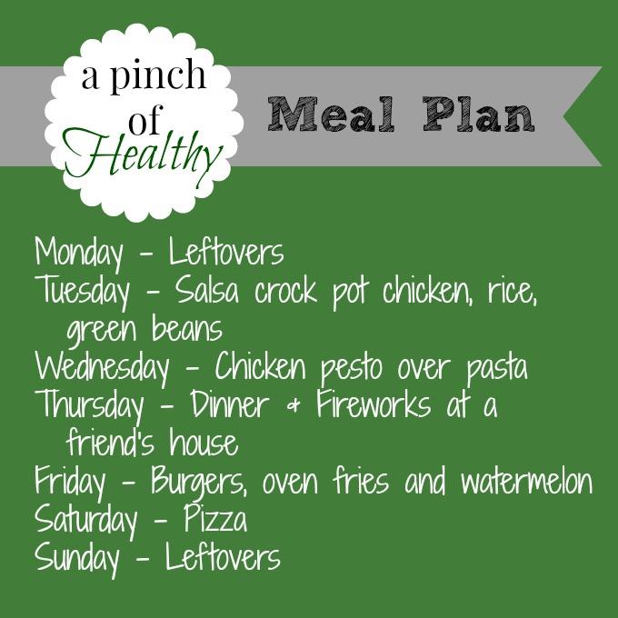 meal plan 06302014