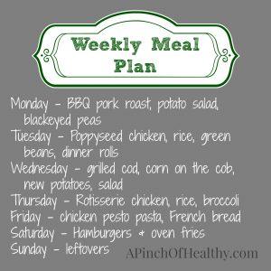 meal plan 62314