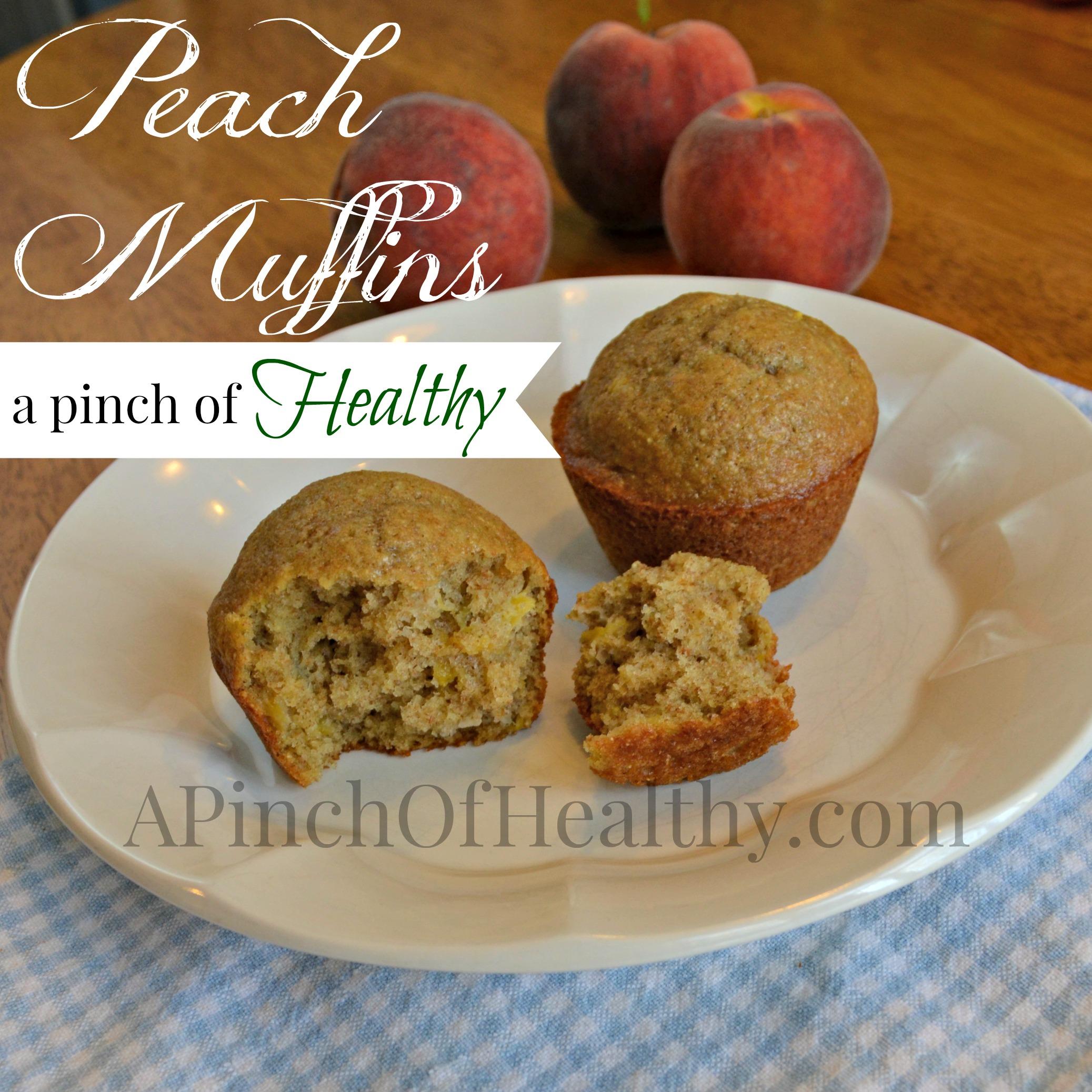 Peach Muffin Recipe – 3 PointsPlus on Weight Watchers