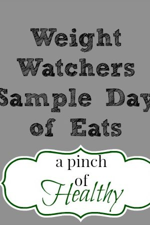 Weight Watchers Sample Day of Eats Video