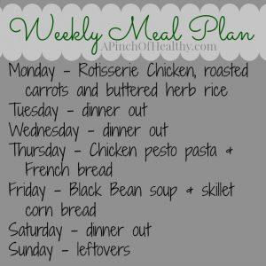 meal plan 072114