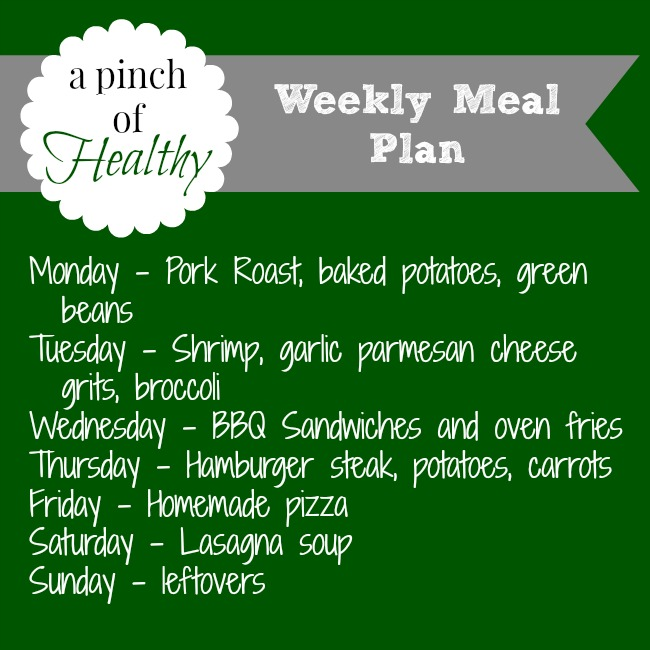 meal plan july14