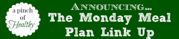 monday meal plan link up
