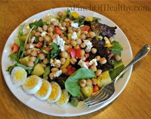 vegetarian lunch salad