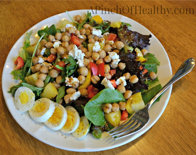 vegetarian lunch salad