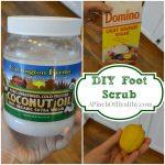 DIY Brown Sugar Foot Scrub Collage