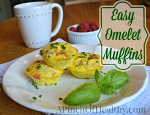 Omelet Muffins – A Healthy Breakfast Recipe