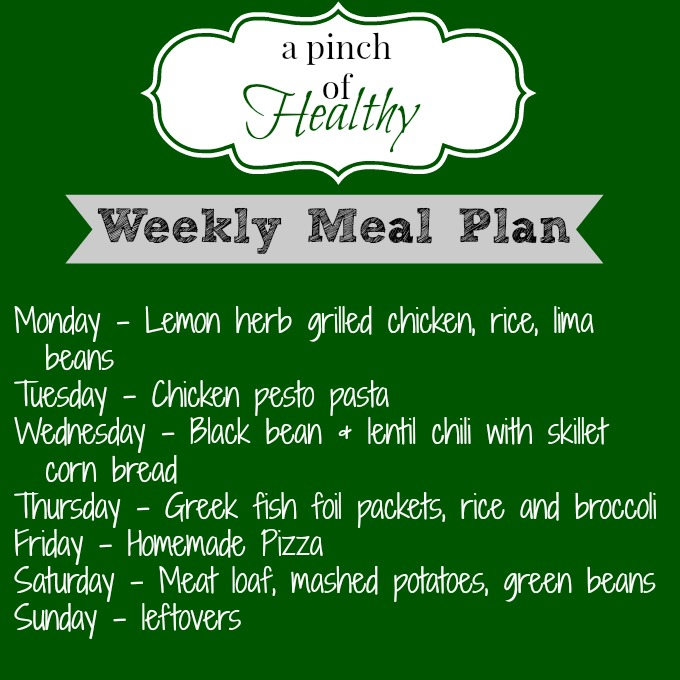 meal plan 08042014