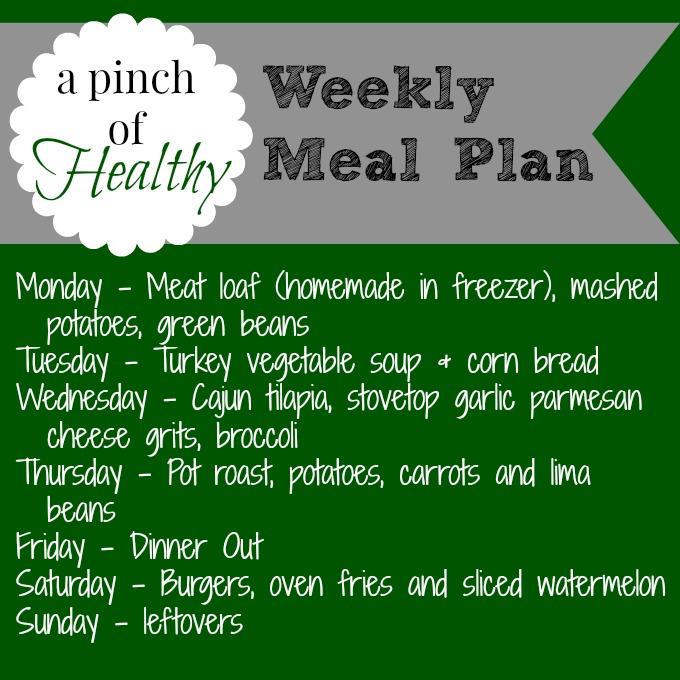 meal plan 08182014