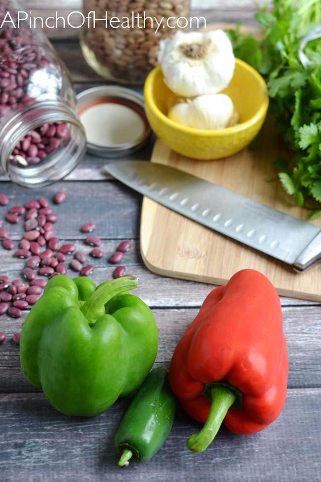 Healthy Turkey Chili | APinchOfHealthy.com