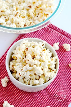 DIY Microwave Popcorn (Vegan, Gluten Free)