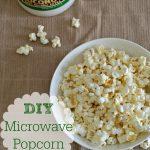 DIY Microwave Popcorn Coconut Oil