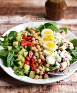 Vegetarian Chopped Salad Recipe