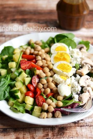 Vegetarian Chopped Salad Recipe
