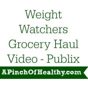 Weight Watchers Grocery Haul Video