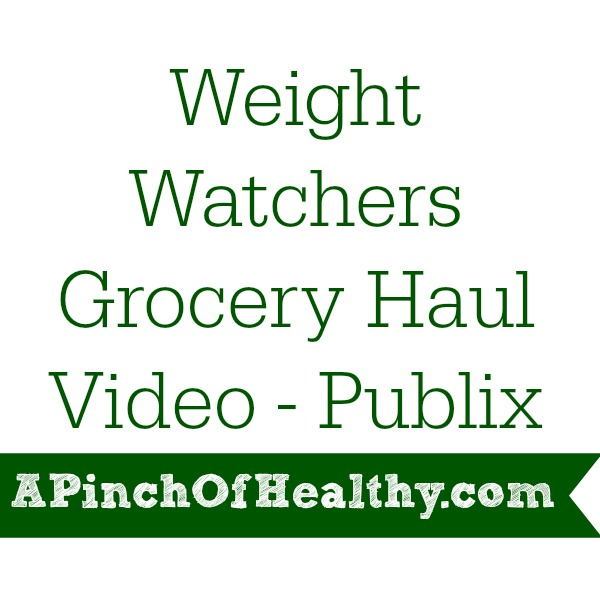Weight Watchers Grocery Haul Video
