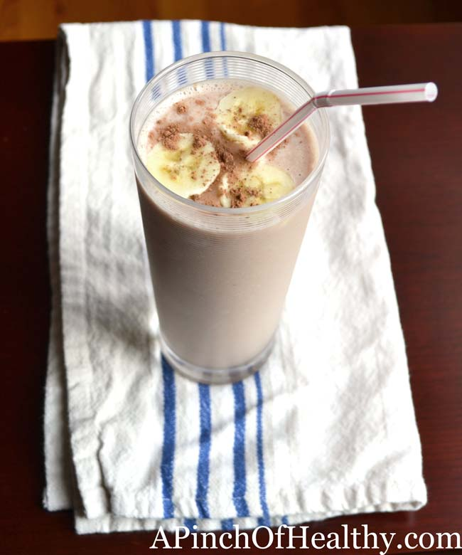 chocolate-banana-protein-shake