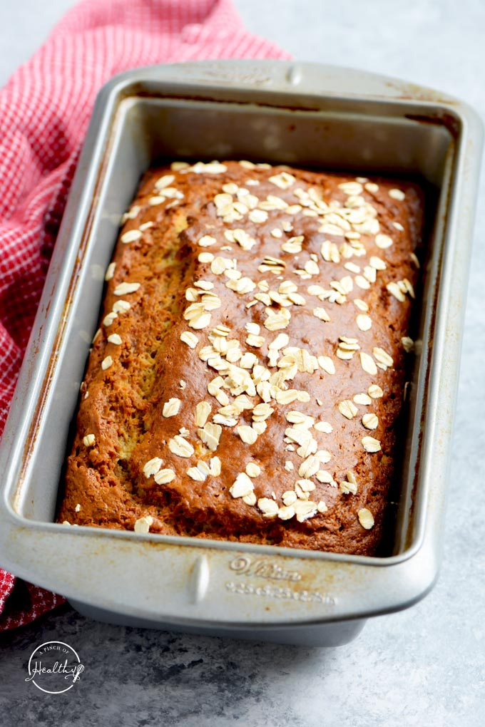 healthy banana bread Greek yogurt whole wheat