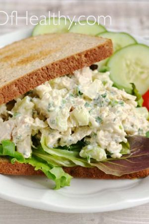 Chicken Salad with Thyme