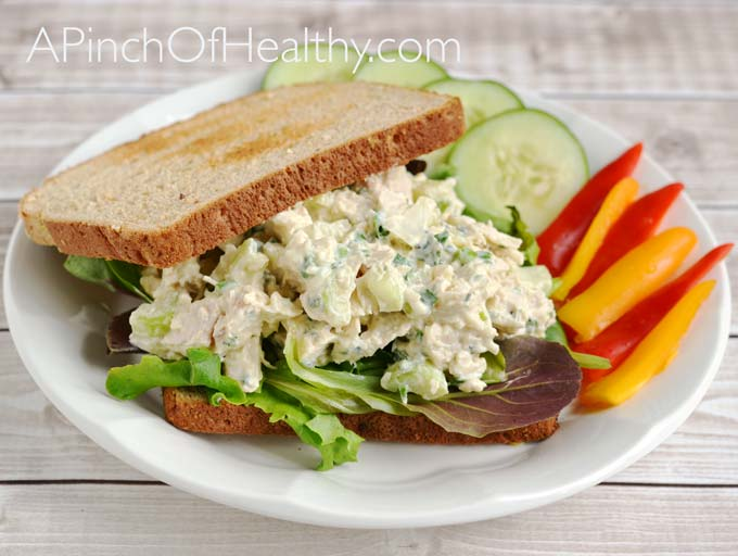 Chicken Salad with Thyme Recipe