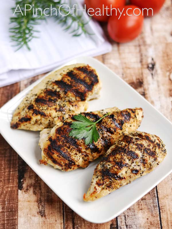 grilled chicken breast grilled chicken easy grill pan method a pinch 12936