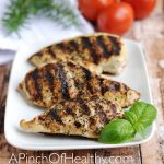 Grilled Chicken Breasts - Easy Grill Pan Method