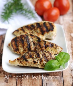 Grilled Chicken Breasts – Easy Grill Pan Method