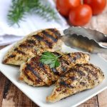 Grilled chicken breasts recipe