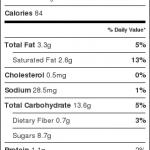 chocolate brownie cookies nutrition