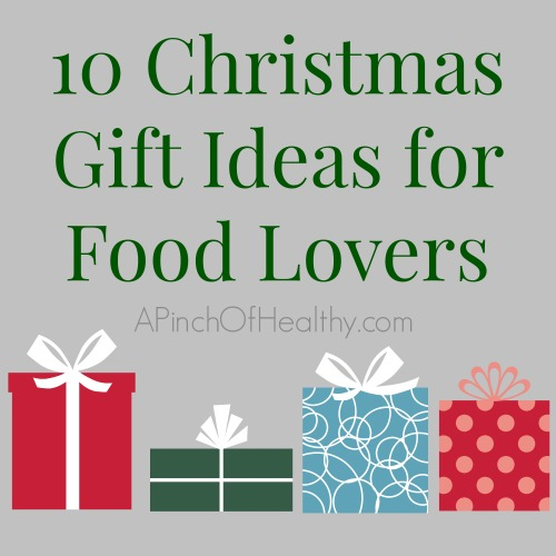 10 christmas gift ideas for food lovers a pinch of healthy Christmas gift ideas for cooking lovers