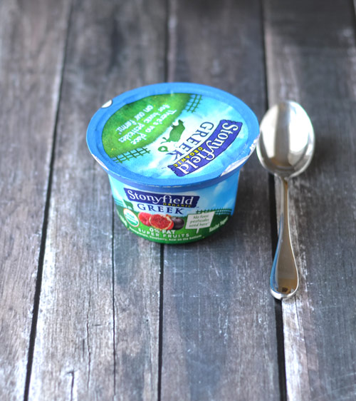 WIAW yogurt