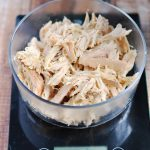 How to make easy shredded chicken in the slow cooker| APinchOfHealthy.com