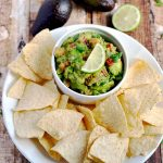 How to Make Guacamole| APinchOfHealthy.com