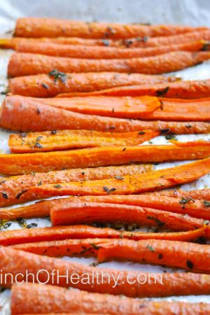 Roasted Thyme Carrots