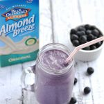 Blueberry Pie Smoothie | APinchOfHealthy.com
