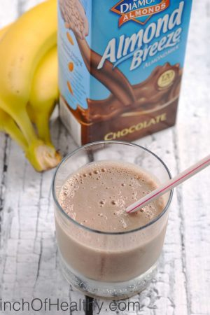 Chocolate Shake Smoothie {Two Ingredients}