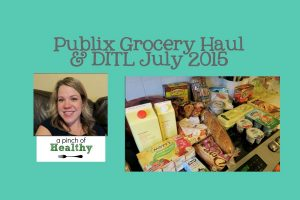 Publix Grocery Haul. Plus A Day in the Life. | APinchOfHealthy.com