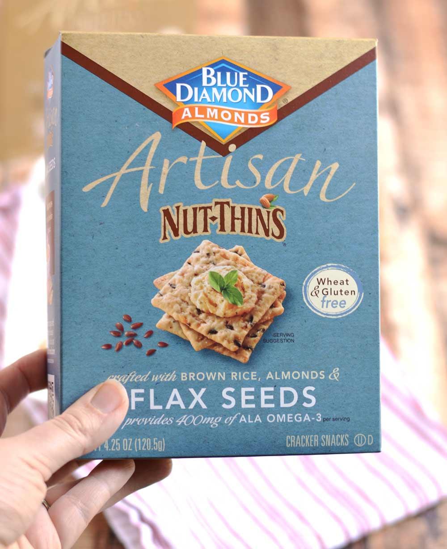 Blue Diamond Artisan Nut Thins | APinchOfHealthy.com
