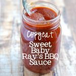 Copycat Sweet Baby Ray's BBQ Sauce | APinchOfHealthy.com