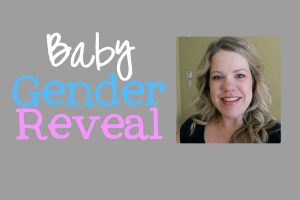 baby gender reveal title