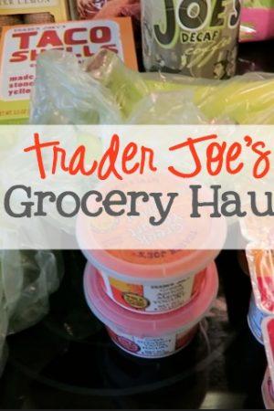 Trader Joe's Grocery Haul Video