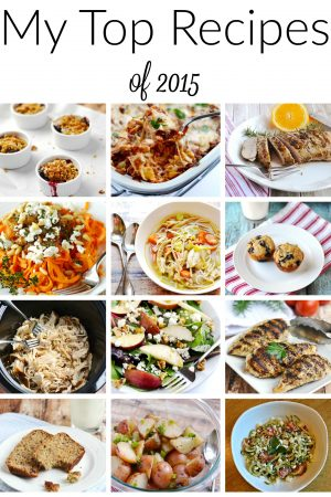 My Top Recipes of 2015