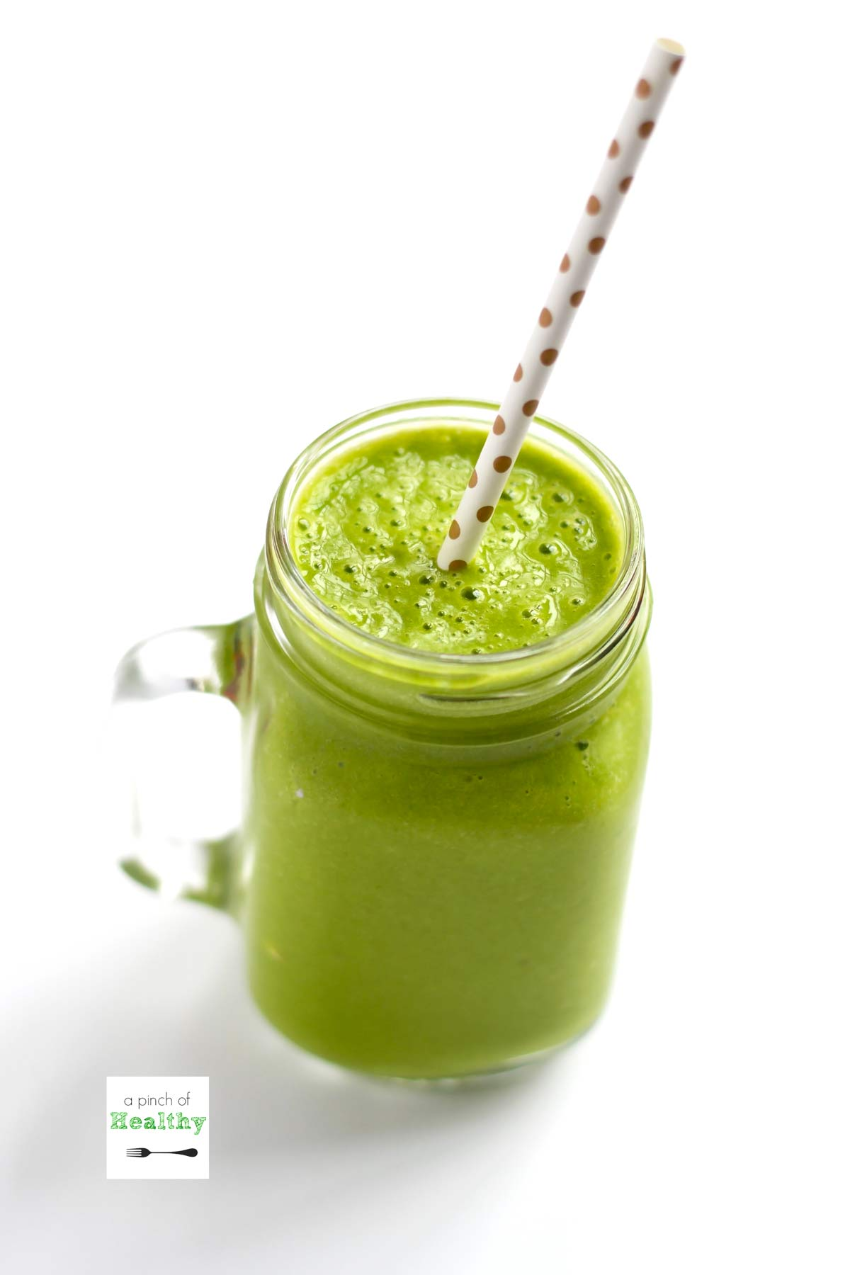 Simple Green Smoothie A Pinch Of Healthy