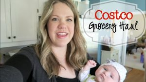 Costco Grocery Haul March 2016 Title
