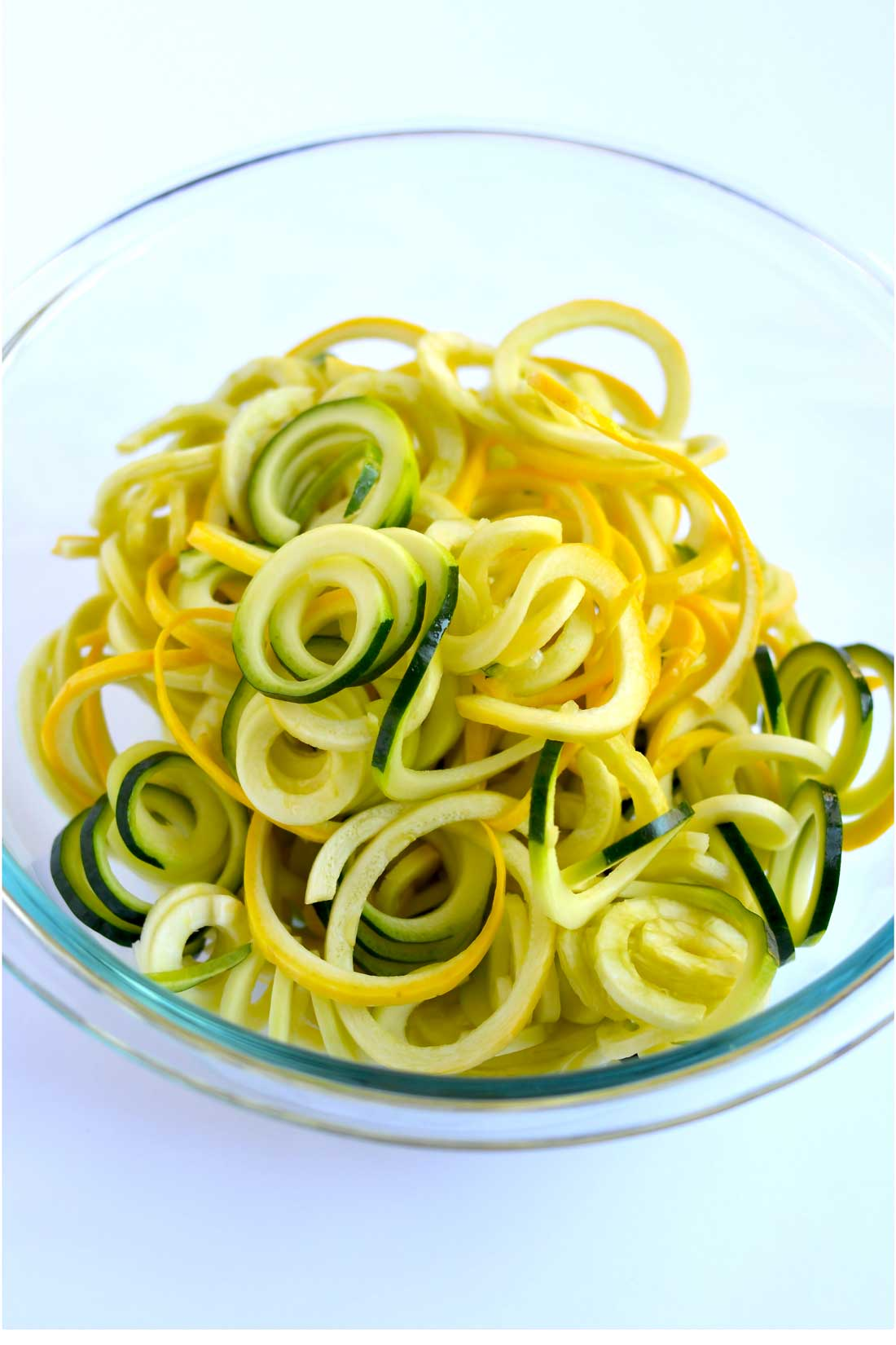 All The Pasta You Can Eat With Olive Garden S Never Ending: Garlic Parmesan Zoodles (Spiralizer Recipe)